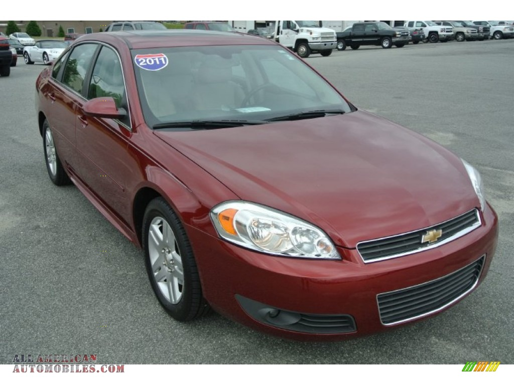 2011 chevrolet impala lt in red jewel tintcoat 188315 all american automobiles buy. Black Bedroom Furniture Sets. Home Design Ideas