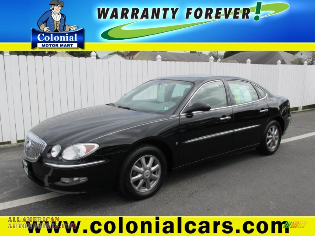 2008 buick lacrosse cxl in black onyx 154297 all for Colonial motors indiana pa