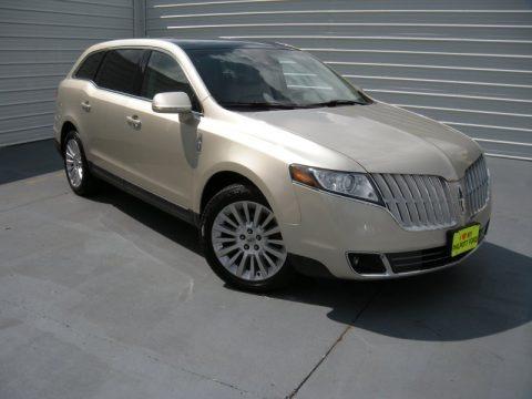Gold Leaf Metallic 2010 Lincoln MKT FWD