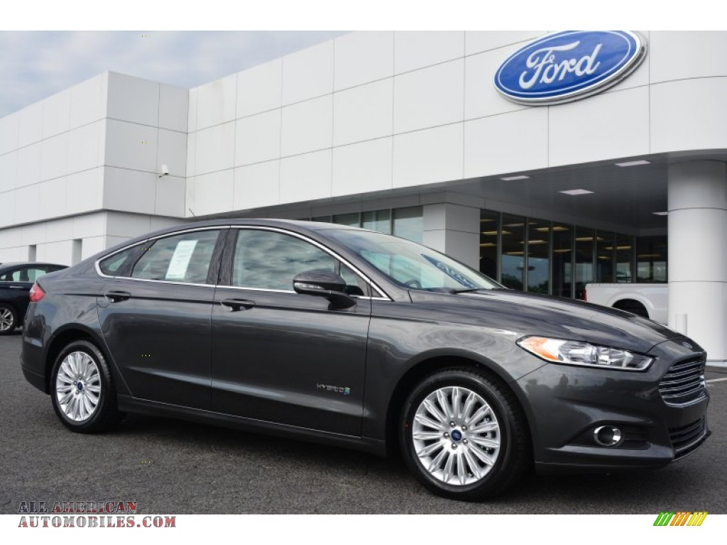 2015 ford fusion hybrid se in magnetic metallic 141524 all american automobiles buy. Black Bedroom Furniture Sets. Home Design Ideas