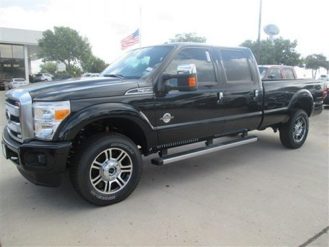 Tuxedo Black 2015 Ford F350 Super Duty Lariat Crew Cab 4x4