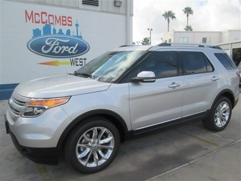 Ingot Silver 2015 Ford Explorer Limited