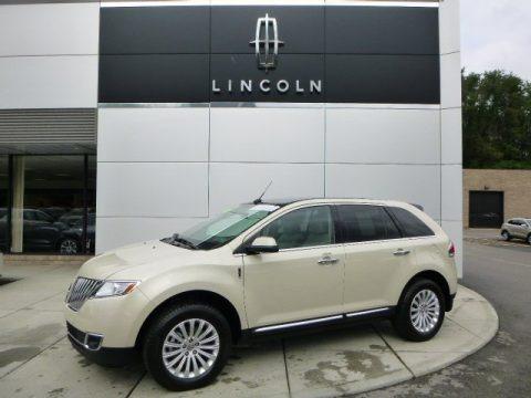 Platinum Dune Metallic Tri-Coat 2014 Lincoln MKX AWD
