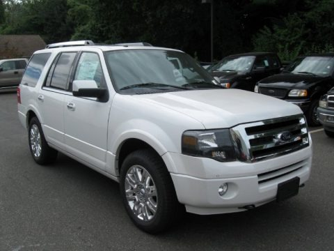 White Platinum 2014 Ford Expedition Limited 4x4