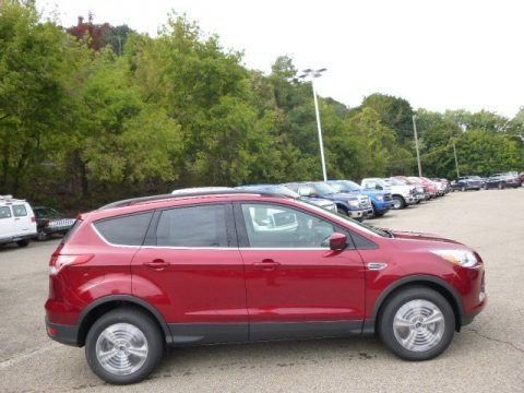 Ruby Red 2014 Ford Escape SE 1.6L EcoBoost 4WD