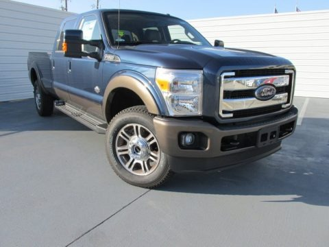 Blue Jeans 2015 Ford F350 Super Duty King Ranch Crew Cab 4x4