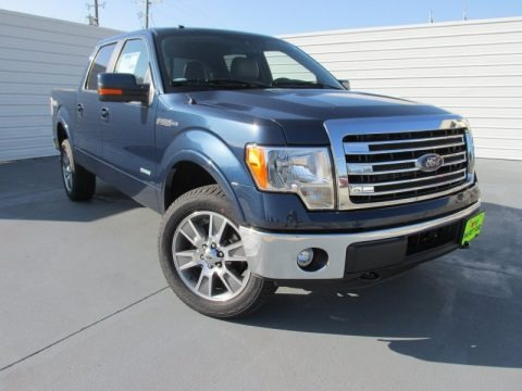 Blue Jeans 2014 Ford F150 Lariat SuperCrew 4x4