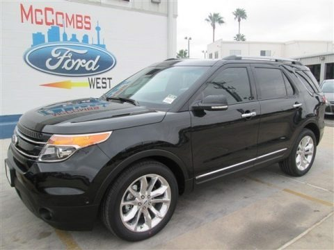 Tuxedo Black 2015 Ford Explorer Limited