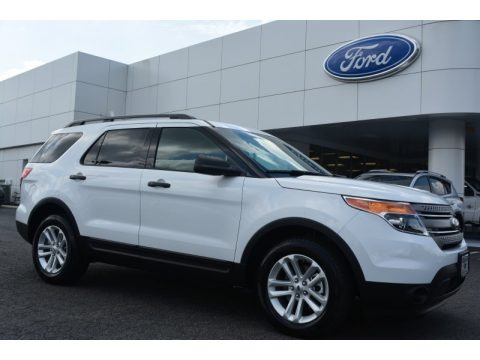 Oxford White 2015 Ford Explorer FWD