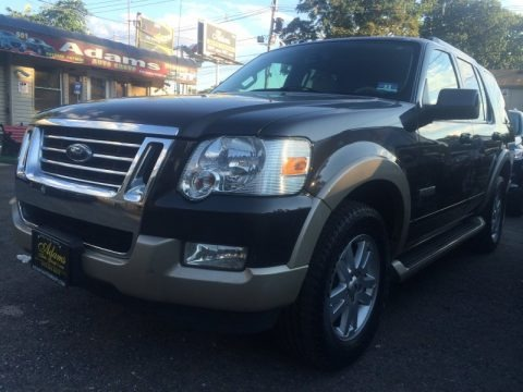 Carbon Metallic 2007 Ford Explorer Eddie Bauer 4x4