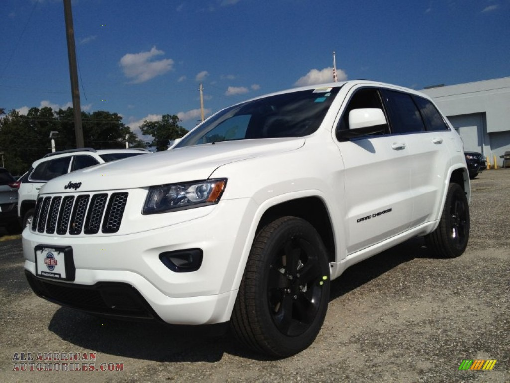 2015 jeep grand cherokee altitude 4x4 in bright white for Steve white motors inc