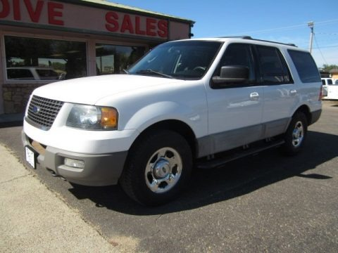 Oxford White 2003 Ford Expedition XLT 4x4