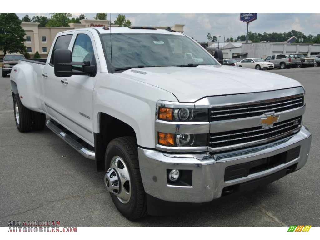 2015 chevrolet silverado 3500hd ltz crew cab dual rear wheel 4x4 in summit white 189535 all. Black Bedroom Furniture Sets. Home Design Ideas