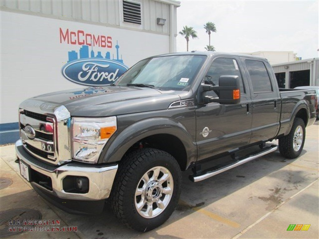 2015 ford f250 super duty lariat crew cab 4x4 in magnetic b39289 all american automobiles. Black Bedroom Furniture Sets. Home Design Ideas