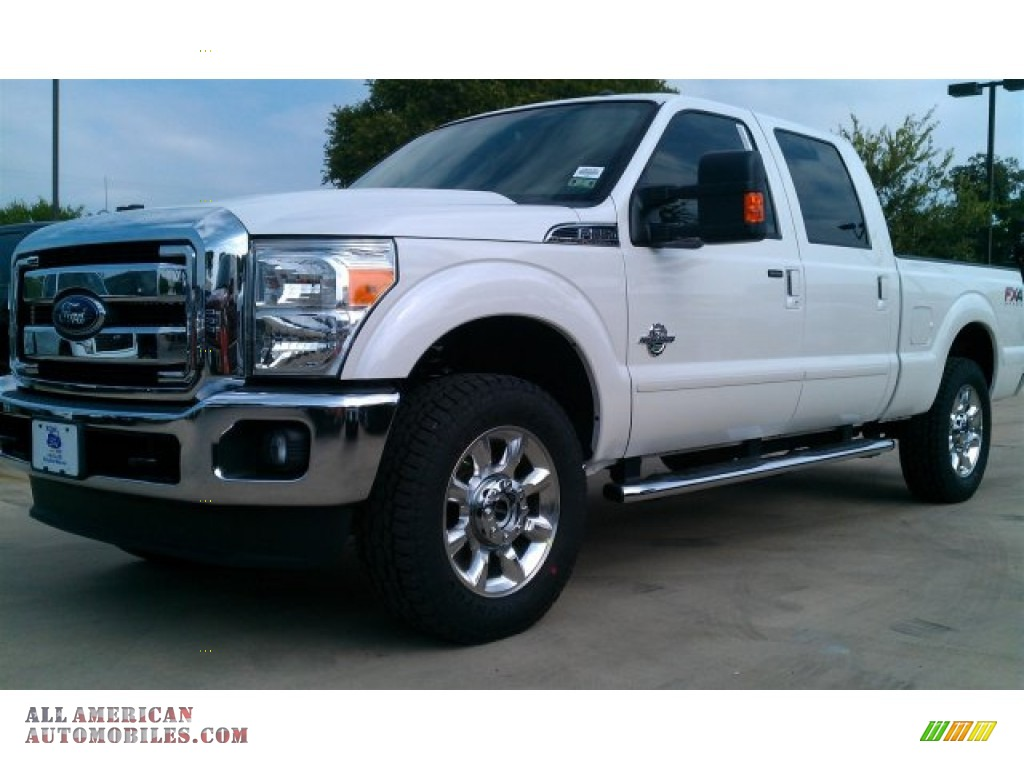 2015 ford f250 super duty lariat crew cab 4x4 in white platinum b39287 all american. Black Bedroom Furniture Sets. Home Design Ideas