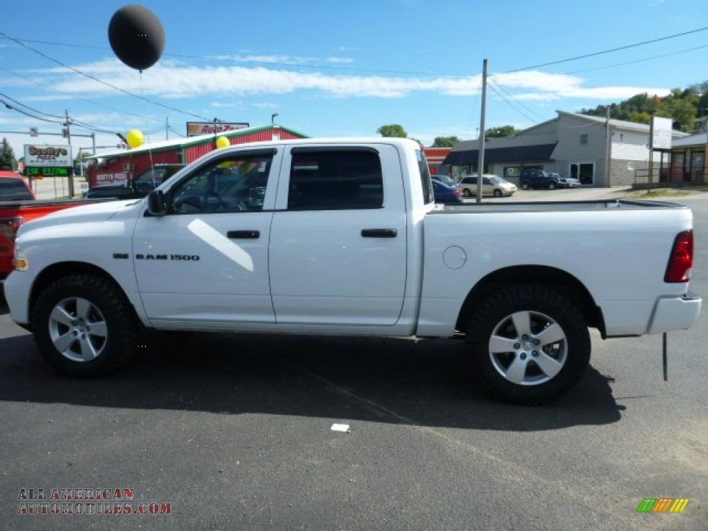 2012 dodge ram 1500 st crew cab 4x4 in bright white photo 2 250862 all american automobiles. Black Bedroom Furniture Sets. Home Design Ideas