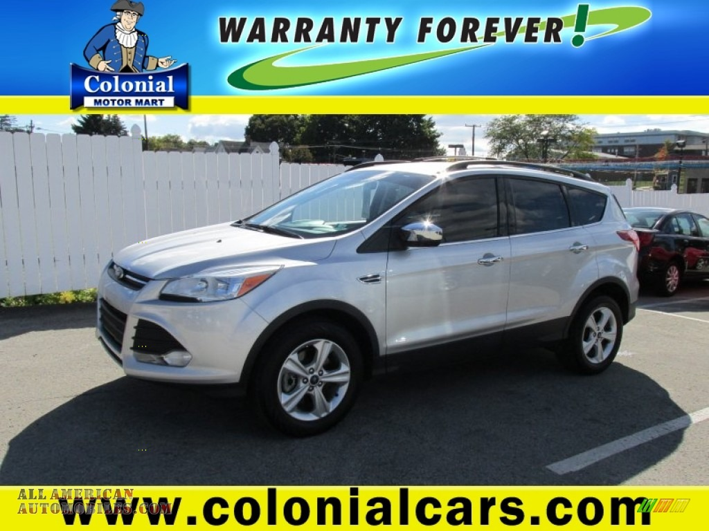 2013 ford escape se 2 0l ecoboost 4wd in ingot silver for Colonial motors indiana pa
