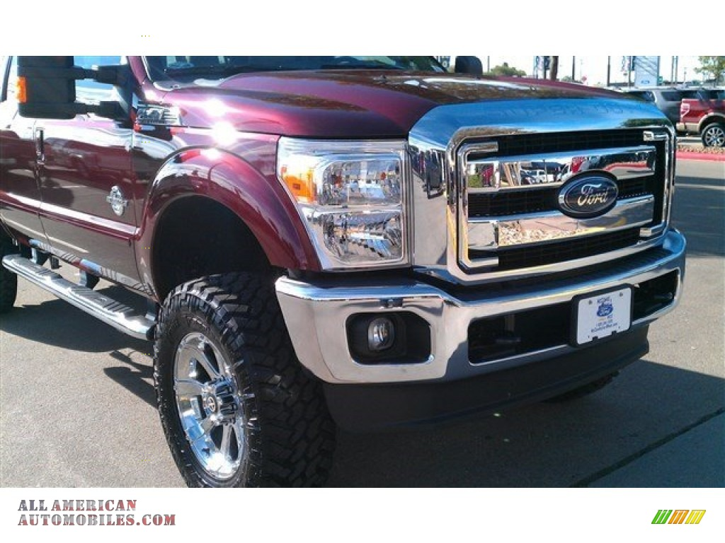 2015 Ford F250 Super Duty Lariat Crew Cab 4x4 In Bronze