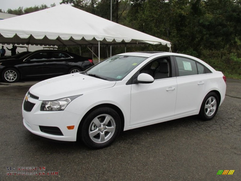 2014 Chevrolet Cruze Lt In Summit White 482247 All
