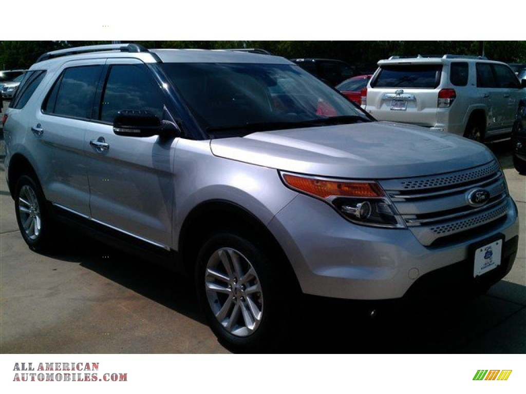 2015 ford explorer xlt in ingot silver a85540 all american automobiles buy american cars. Black Bedroom Furniture Sets. Home Design Ideas