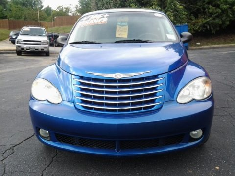 Electric Blue Pearl 2006 Chrysler PT Cruiser Limited