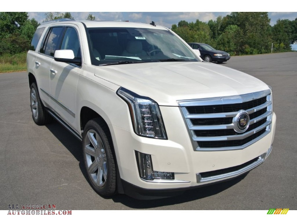 2015 cadillac escalade premium 4wd in white diamond tricoat 288429 all american automobiles. Black Bedroom Furniture Sets. Home Design Ideas