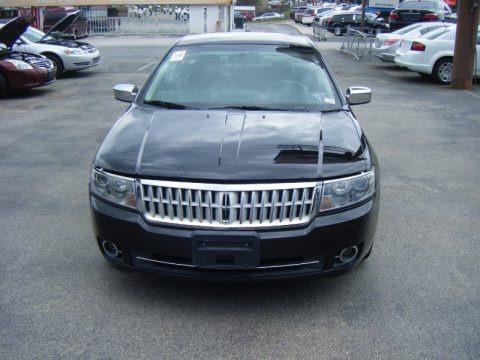 Black 2008 Lincoln MKZ AWD Sedan