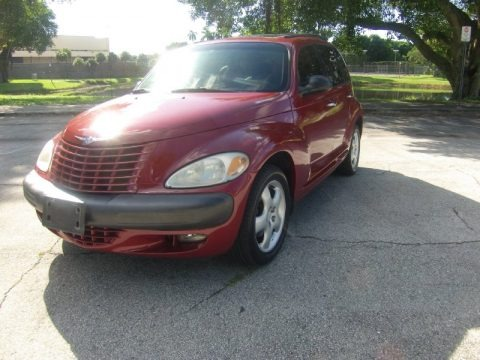 Inferno Red Pearl 2001 Chrysler PT Cruiser Limited