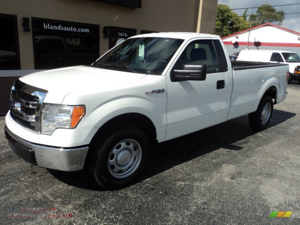2013 ford f150 xl regular cab in oxford white e47069 all american automobiles buy american. Black Bedroom Furniture Sets. Home Design Ideas