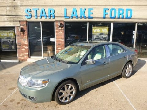 Moss Green Metallic 2008 Lincoln MKZ AWD Sedan