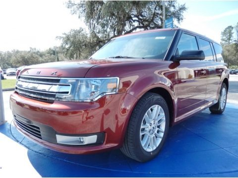 Sunset 2014 Ford Flex SEL