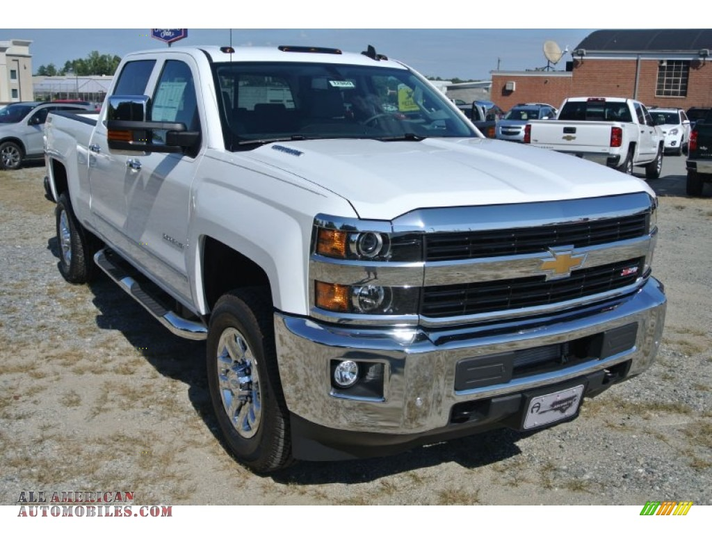 2015 chevrolet silverado 2500hd ltz crew cab 4x4 in summit white 501748 all american. Black Bedroom Furniture Sets. Home Design Ideas