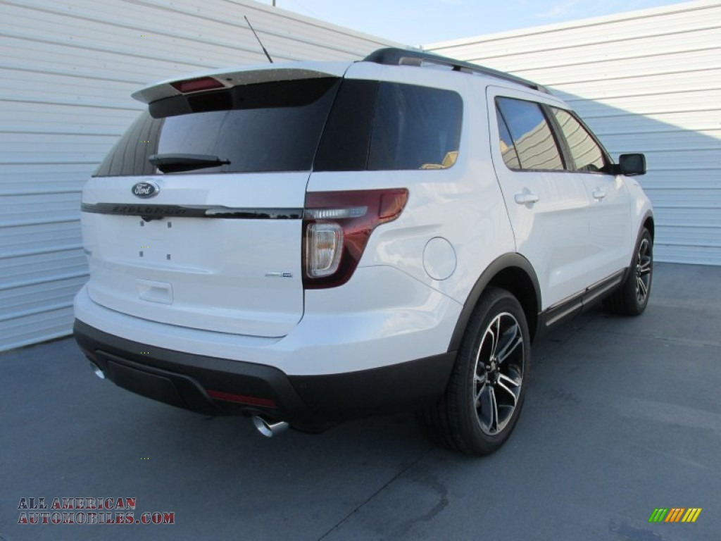 2015 ford explorer sport 4wd in white platinum photo 4 a76870 all american automobiles. Black Bedroom Furniture Sets. Home Design Ideas