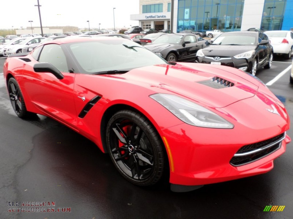 2015 chevrolet corvette stingray coupe z51 in torch red. Black Bedroom Furniture Sets. Home Design Ideas