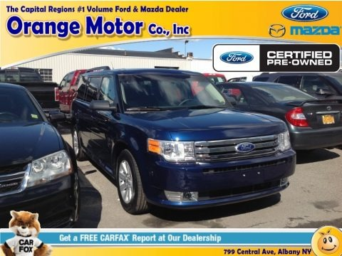 Dark Blue Pearl Metallic 2012 Ford Flex SE