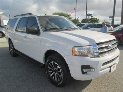 Oxford White 2015 Ford Expedition EL XLT