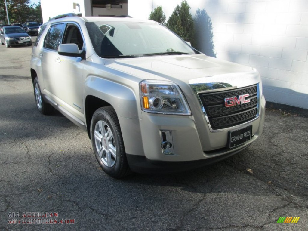 2015 gmc terrain sle awd in champagne silver metallic 166472 all american automobiles buy. Black Bedroom Furniture Sets. Home Design Ideas
