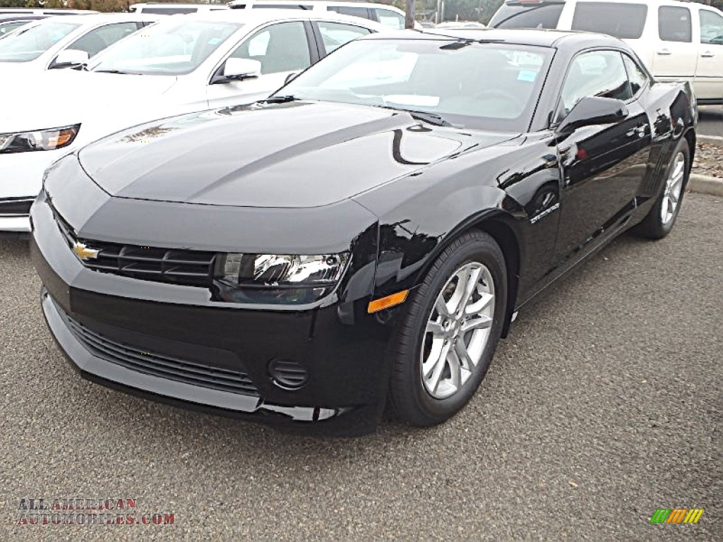 2015 chevrolet camaro ls coupe in black 130396 all american automobiles buy american cars. Black Bedroom Furniture Sets. Home Design Ideas