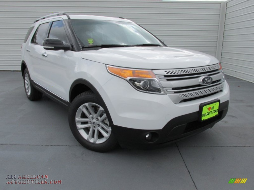 2015 ford explorer xlt in oxford white a86060 all american automobiles buy american cars. Black Bedroom Furniture Sets. Home Design Ideas