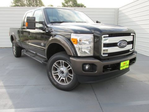 Tuxedo Black 2015 Ford F350 Super Duty King Ranch Crew Cab 4x4