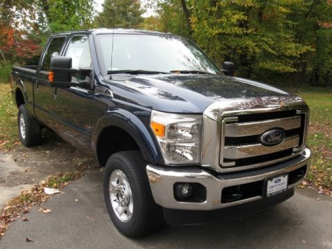 Blue Jeans 2015 Ford F350 Super Duty XLT Crew Cab 4x4