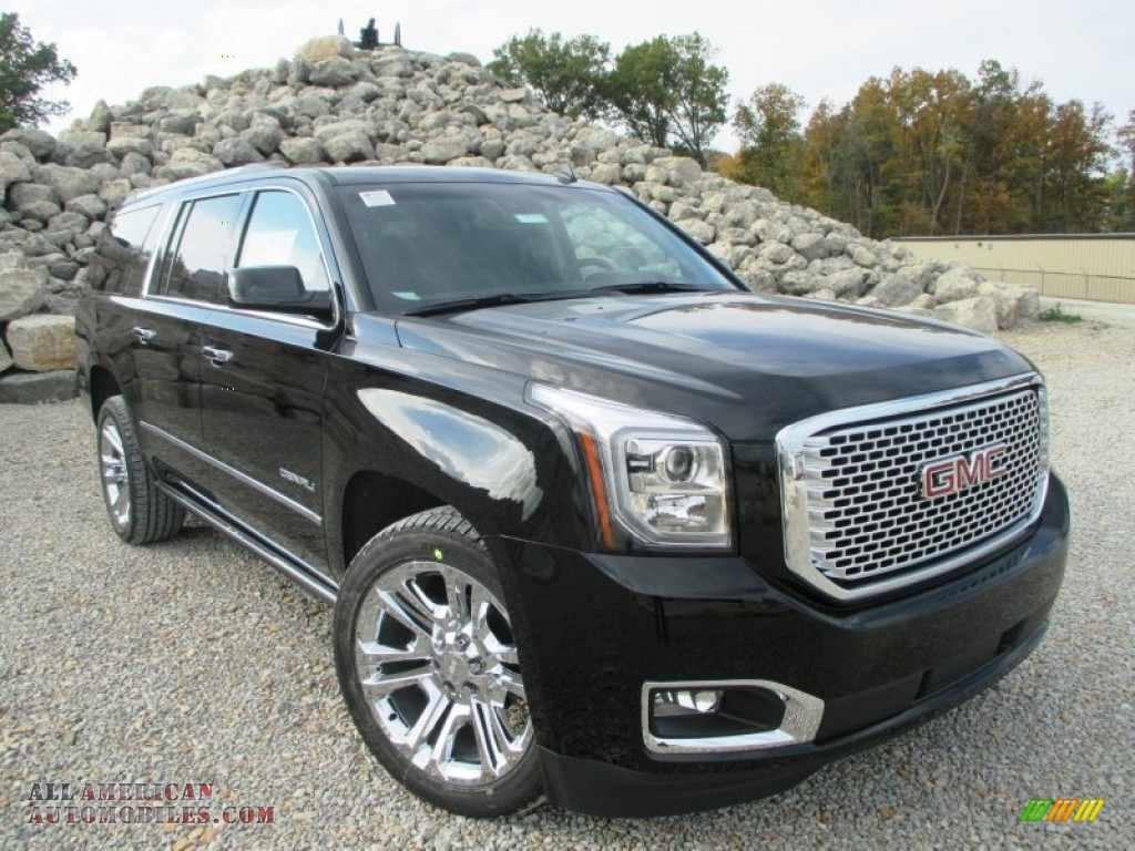 2015 gmc yukon xl denali 4wd in onyx black 302935 all american automobiles buy american. Black Bedroom Furniture Sets. Home Design Ideas