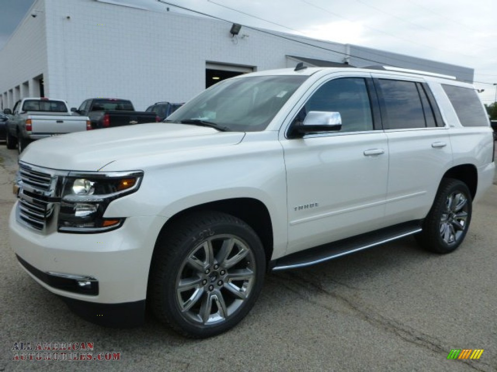 2015 chevrolet tahoe ltz 4wd in white diamond tricoat 295013 all american automobiles buy. Black Bedroom Furniture Sets. Home Design Ideas