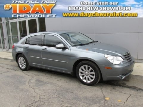 Silver Steel Metallic 2010 Chrysler Sebring Limited Sedan