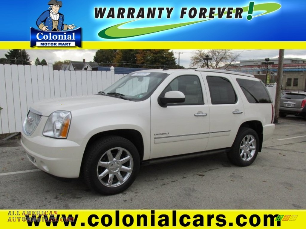 2010 gmc yukon denali awd in summit white 202272 all for Colonial motors indiana pa