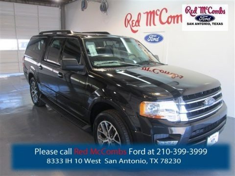 Tuxedo Black Metallic 2015 Ford Expedition EL XLT