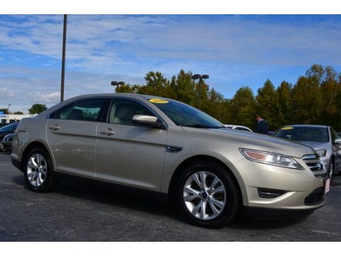 Gold Leaf Metallic 2010 Ford Taurus SEL AWD
