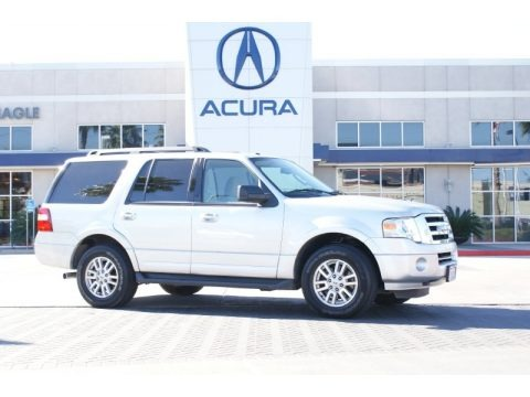 Ingot Silver Metallic 2012 Ford Expedition XLT