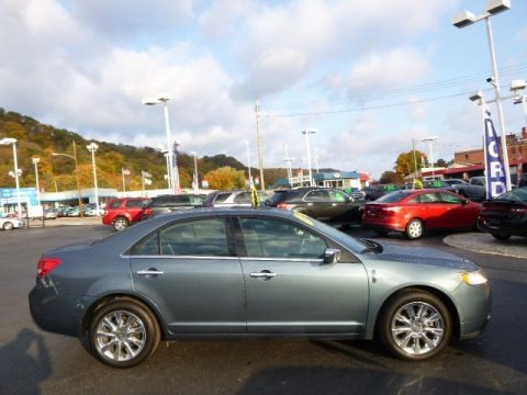 Steel Blue Metallic 2012 Lincoln MKZ FWD