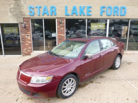 Merlot Metallic 2006 Lincoln Zephyr